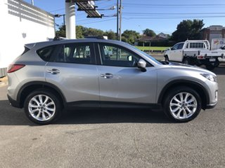 2012 Mazda CX-5 KE1021 Grand Touring SKYACTIV-Drive AWD Silver 6 Speed Sports Automatic Wagon.