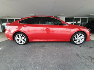 2012 Mazda 6 GH1052 MY12 Luxury Sports Red 5 Speed Sports Automatic Hatchback.
