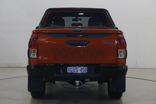 2019 Toyota Hilux GUN126R Rugged X Double Cab Orange 6 Speed Sports Automatic Utility