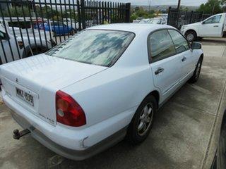 2000 Mitsubishi Magna White 4 Speed Automatic Sedan