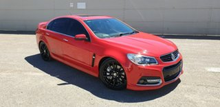 2013 Holden Commodore VF MY14 SS V Redline Red 6 Speed Manual Sedan.