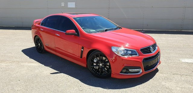 Used Holden Commodore VF MY14 SS V Redline Elizabeth, 2013 Holden Commodore VF MY14 SS V Redline Red 6 Speed Manual Sedan