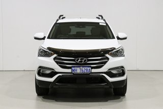 2018 Hyundai Santa Fe DM5 MY18 Active X White 6 Speed Automatic Wagon.
