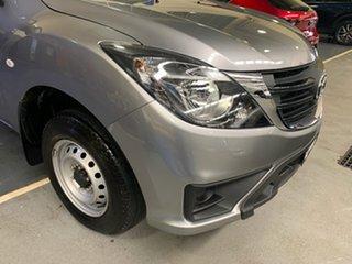 2020 Mazda BT-50 UR0YE1 XT 4x2 Aluminium 6 Speed Manual Cab Chassis.