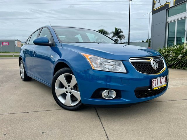 Used Holden Cruze JH Series II MY14 Equipe Townsville, 2014 Holden Cruze JH Series II MY14 Equipe Blue 5 Speed Manual Sedan