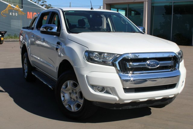 Used Ford Ranger PX MkII XLT 3.2 (4x4) West Footscray, 2015 Ford Ranger PX MkII XLT 3.2 (4x4) White 6 Speed Automatic Dual Cab Utility