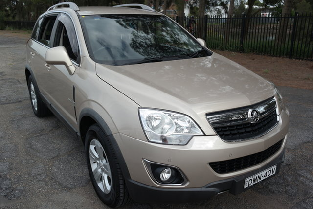 Used Holden Captiva CG Series II 5 Maryville, 2011 Holden Captiva CG Series II 5 Gold 6 Speed Sports Automatic Wagon