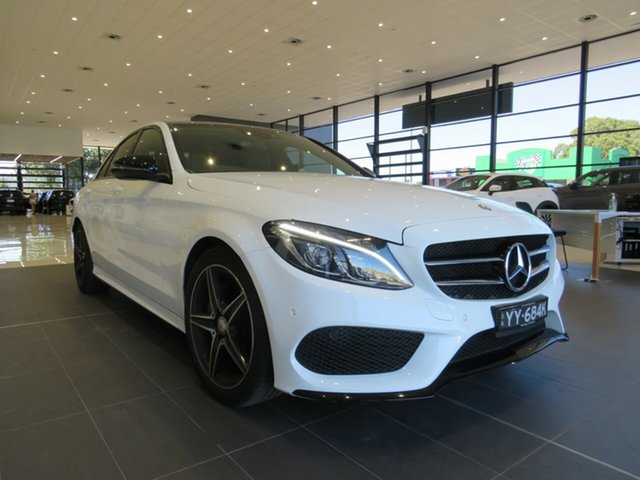 Used Mercedes-Benz C-Class W205 807MY C200 7G-Tronic + Edwardstown, W205 807MY C200 SED 4dr 7G+ 7sp 2.0T
