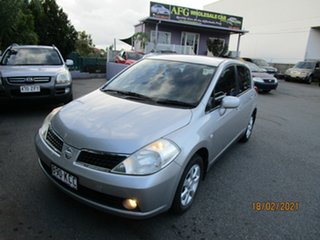 2006 Nissan Tiida C11 Q Silver 4 Speed Automatic Hatchback.
