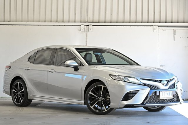 Used Toyota Camry GSV70R SX Laverton North, 2019 Toyota Camry GSV70R SX Silver 8 Speed Sports Automatic Sedan