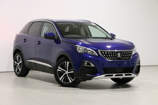 2019 Peugeot 3008 P84 MY19 Allure Blue 6 Speed Automatic Wagon.
