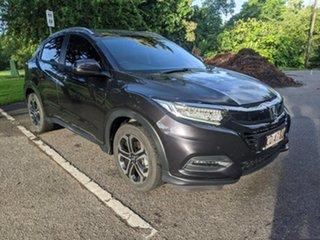 2019 Honda HR-V MY20 VTi-LX Black 1 Speed Constant Variable Hatchback.