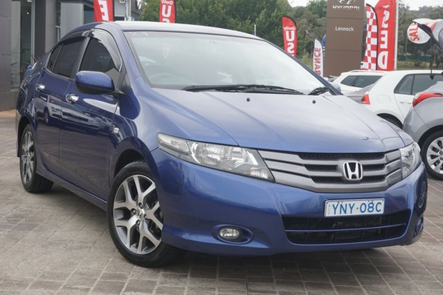 Used Honda City GM MY09 VTi-L Phillip, 2009 Honda City GM MY09 VTi-L Blue 5 Speed Automatic Sedan