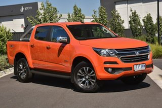 2019 Holden Colorado RG MY19 LTZ Pickup Crew Cab Orange 6 Speed Sports Automatic Utility.