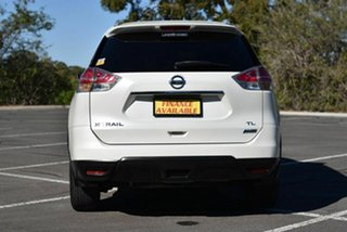 2015 Nissan X-Trail T32 TL X-tronic 2WD White 7 Speed Constant Variable Wagon
