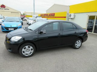 2011 Toyota Yaris NCP93R 10 Upgrade YRS Black 5 Speed Manual Sedan