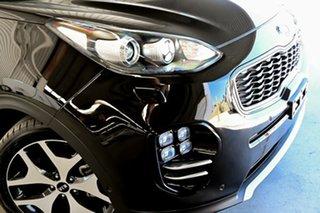 2017 Kia Sportage QL MY17 GT-Line AWD Black 6 Speed Sports Automatic Wagon.