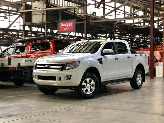 Used Ford Ranger PX XLS Double Cab Mile End South, 2015 Ford Ranger PX XLS Double Cab White 6 Speed Sports Automatic Utility