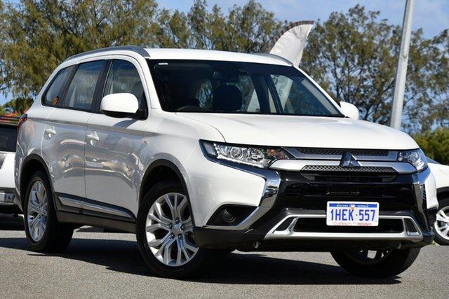 Used Mitsubishi Outlander ZL MY19 ES AWD Clarkson, 2019 Mitsubishi Outlander ZL MY19 ES AWD White 6 Speed Constant Variable Wagon