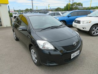 2011 Toyota Yaris NCP93R 10 Upgrade YRS Black 5 Speed Manual Sedan.