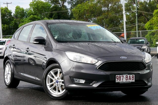 Used Ford Focus LZ Trend Hillcrest, 2017 Ford Focus LZ Trend Grey 6 Speed Automatic Hatchback