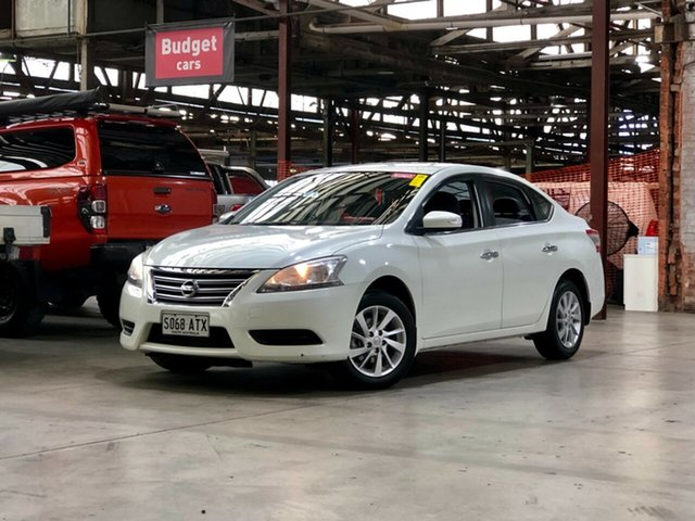 Used Nissan Pulsar B17 ST Mile End South, 2013 Nissan Pulsar B17 ST White 6 Speed Manual Sedan
