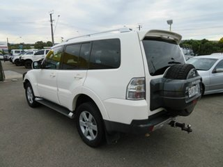 2007 Mitsubishi Pajero NS VR-X LWB (4x4) White 5 Speed Auto Sports Mode Wagon