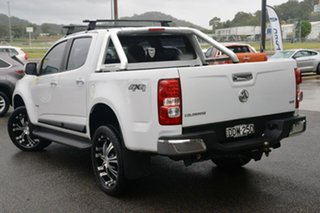 2012 Holden Colorado RG MY13 LX Crew Cab White 5 Speed Manual Cab Chassis.