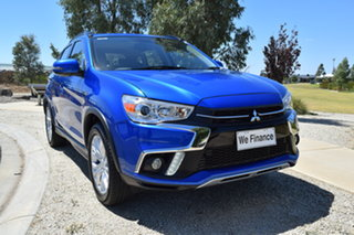 2018 Mitsubishi ASX XC MY19 ES 2WD ADAS Blue 1 Speed Constant Variable Wagon