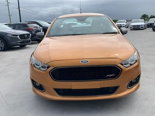 2014 Ford Falcon FG X XR6 Ute Super Cab Turbo Orange 6 Speed Manual Utility