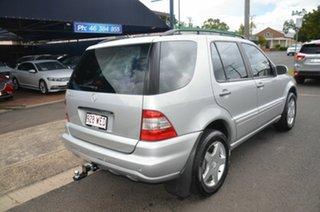 2003 Mercedes-Benz ML500 W163 Luxury (4x4) Silver 5 Speed Auto Tipshift Wagon.