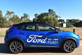 2020 Ford Puma JK 2020.75MY Puma Desert Island Blue 7 Speed Sports Automatic Dual Clutch Wagon.