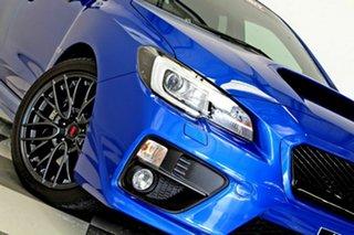 2016 Subaru WRX MY17 STI (AWD) Blue 6 Speed Manual Sedan.