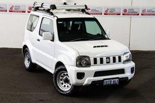 2012 Suzuki Jimny Sierra (4x4) 5 Speed Manual 4x4 Wagon.