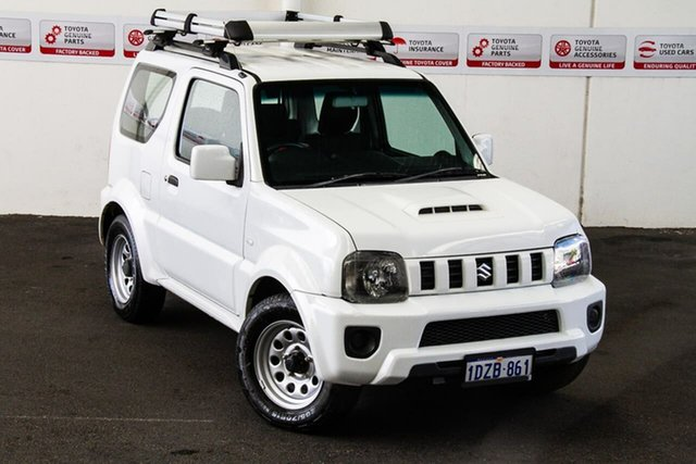 Pre-Owned Suzuki Jimny Sierra (4x4) Myaree, 2012 Suzuki Jimny Sierra (4x4) 5 Speed Manual 4x4 Wagon