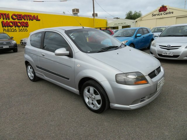 Used Holden Barina TK MY07 Morphett Vale, 2006 Holden Barina TK MY07 Silver 4 Speed Automatic Hatchback