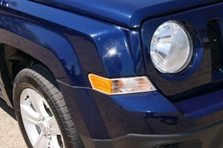 2012 Jeep Patriot MK MY12 Sport (4x2) Blue 6 Speed CVT Auto Sequential Wagon.