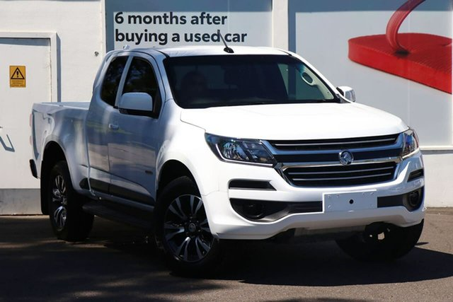 Pre-Owned Holden Colorado RG MY19 LS Pickup Crew Cab 4x2 Ferntree Gully, 2018 Holden Colorado RG MY19 LS Pickup Crew Cab 4x2 Summit White 6 Speed Sports Automatic Utility