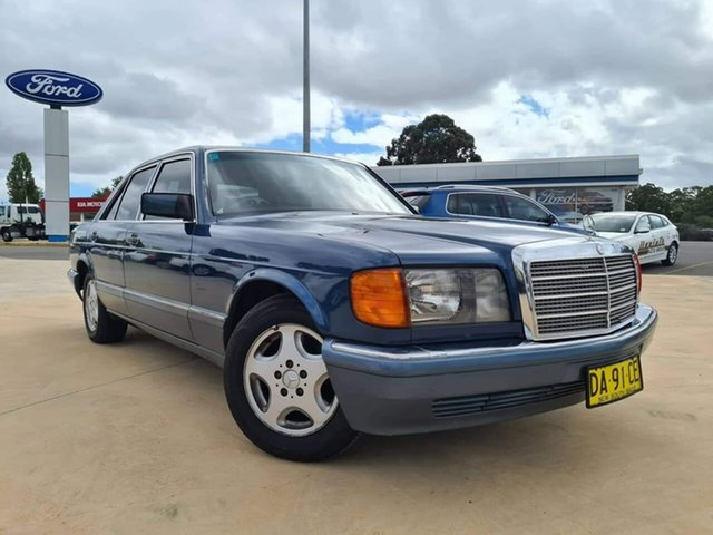 Used Mercedes-Benz 300SE Goulburn, 1990 Mercedes-Benz 300SE Blue Automatic Sedan