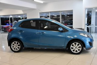 2013 Mazda 2 DE10Y2 MY14 Neo Sport Blue 4 Speed Automatic Hatchback.