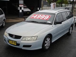 2006 Holden Commodore VZ MY06 Executive Light Blue 4 Speed Automatic Wagon.