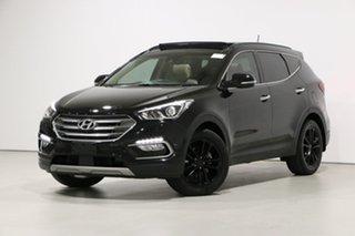 2016 Hyundai Santa Fe DM SER II (DM3) Update Highlander CRDi (4x4) Black 6 Speed Automatic Wagon.