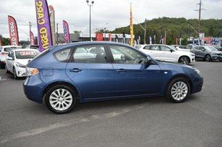 2011 Subaru Impreza G3 MY11 R AWD Blue 5 Speed Manual Hatchback.