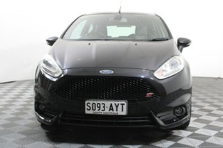 2013 Ford Fiesta WZ ST Black 6 Speed Manual Hatchback.
