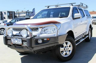 2013 Holden Colorado RG MY13 LT Crew Cab White 6 Speed Sports Automatic Utility.