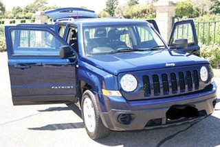 2012 Jeep Patriot MK MY12 Sport (4x2) Blue 6 Speed CVT Auto Sequential Wagon