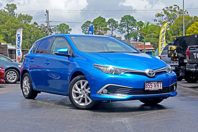Used Toyota Corolla ZRE182R Ascent Sport S-CVT Chandler, 2015 Toyota Corolla ZRE182R Ascent Sport S-CVT Blue 7 Speed Constant Variable Hatchback
