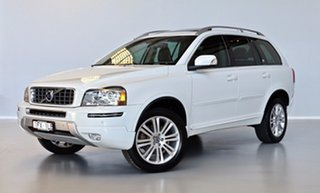 2014 Volvo XC90 P28 MY14 Executive Geartronic White 6 Speed Sports Automatic Wagon.