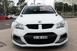 2016 Holden Special Vehicles ClubSport Gen-F2 MY16 R8 LSA White 6 Speed Sports Automatic Sedan