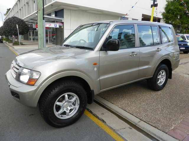 Used Mitsubishi Pajero NM Commonwealth Games Ltd Ed Southport, 2002 Mitsubishi Pajero NM Commonwealth Games Ltd Ed Gold 5 Speed Auto Sports Mode Wagon